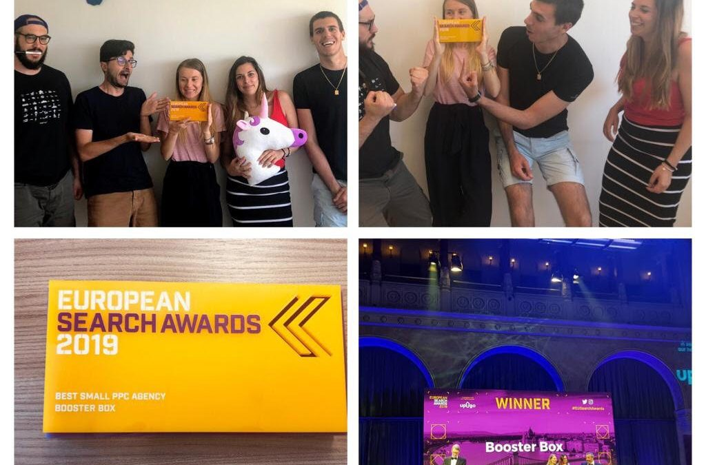 Booster Box wins Best Small PPC Agency of the Year